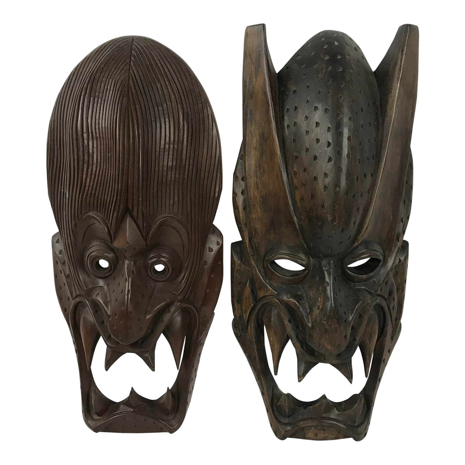 20th Century Tribal Carved Wooden Igorot Or Ifugao