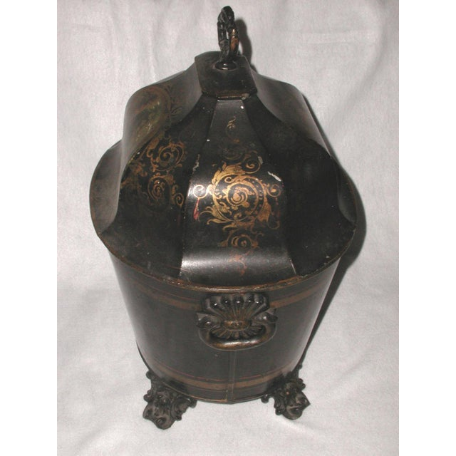 Early 19th Century French Coal Hod For Sale - Image 4 of 11