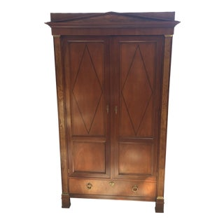 Baker Furniture Company Palladian Media Armoire