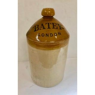 Vintage Batey London Ginger Beer Stoneware Crock Preview