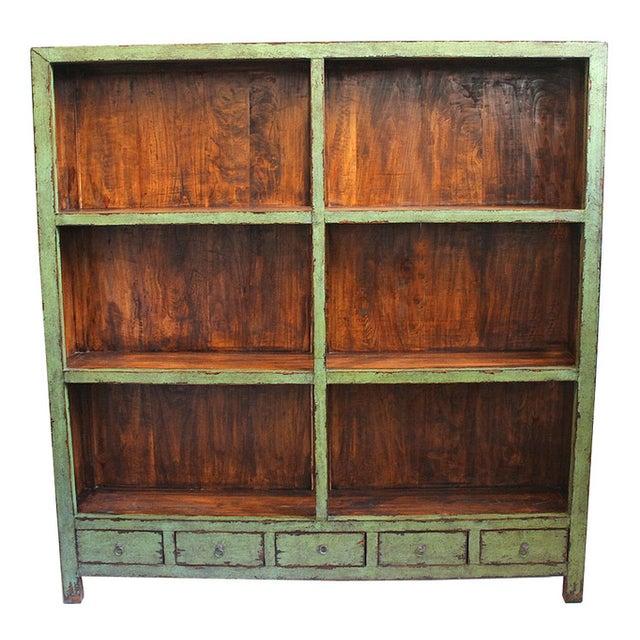 Vintage Green Shelf - Image 1 of 3