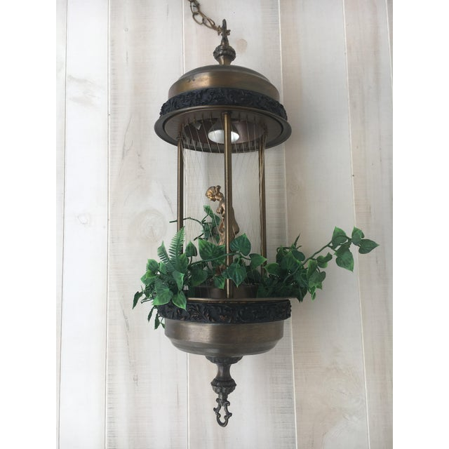 """This is a vintage """"Rain Lamp"""". When rain lamp oil or mineral oil is put in the lamp it creates a slow motion effect of..."""