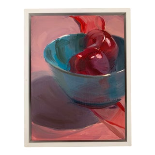 """Beth Alberty Painting """"Plums"""" Oil On Linen For Sale"""