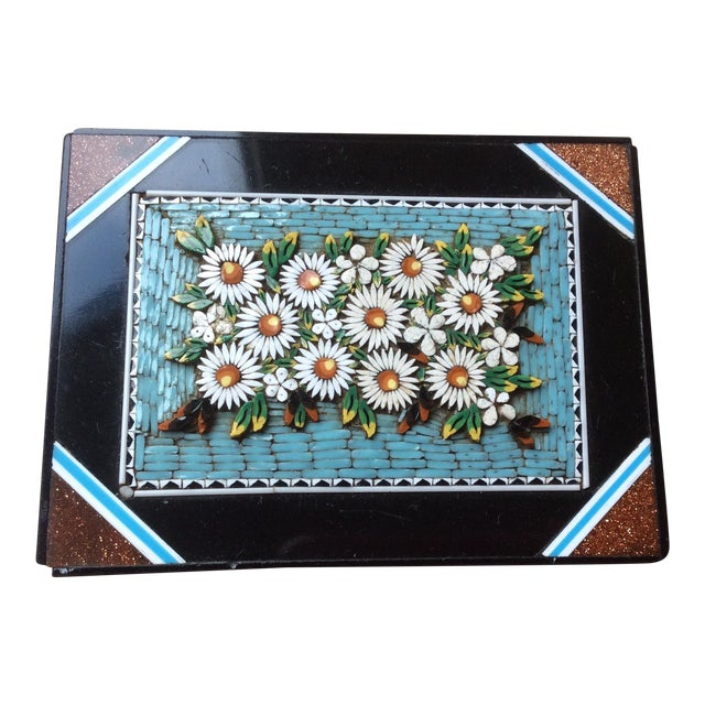 19th Century Micro Mosaic Paper Weight For Sale