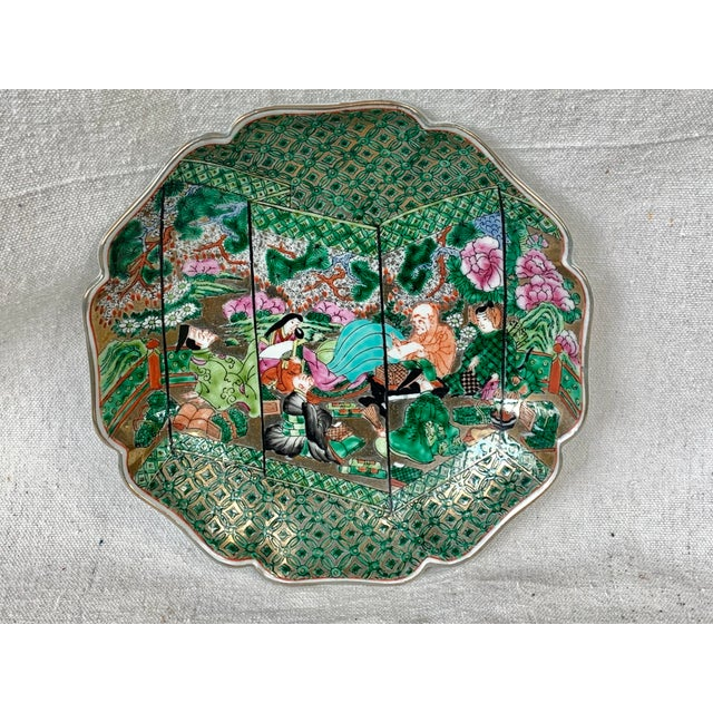 "Stunning vintage plate. Made by Hong Horizons this is a numbered reproduction plate. It is based off the book ""The Tale of..."