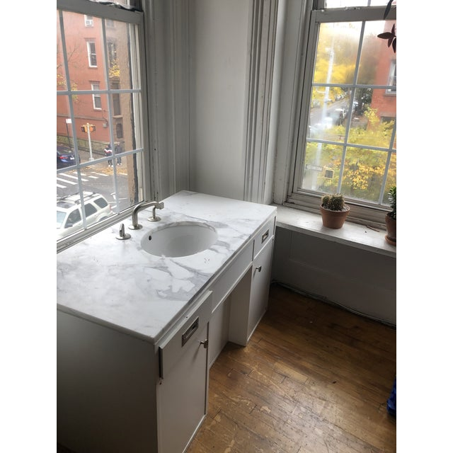 Modern Waterworks Sink/Vanity Fixture For Sale - Image 12 of 13
