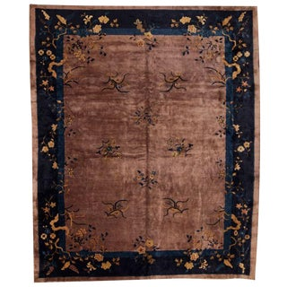 Antique Chinese Nichols Carpet For Sale