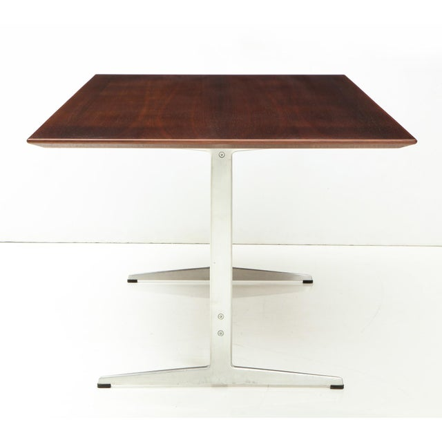 Mid-Century Modern Arne Jacobsen Rosewood Dining Table for Fritz Hansen For Sale - Image 3 of 12