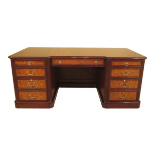 Henkel Harris Mahogany Executive Desk