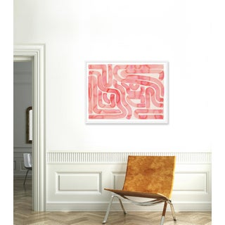 """Large """"Coral Pool"""" Print by Kate Roebuck, 43"""" X 33"""" Preview"""