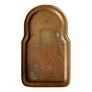 Antique Brass Valet Tray For Sale