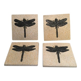 Dragonfly Coasters - Set of 4
