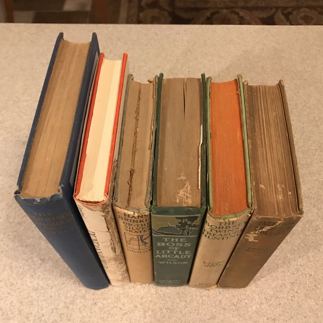Decorative Assorted Books - Set of 6 For Sale - Image 5 of 11