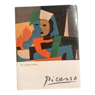 1977 Picasso Art Book Printed in Italy by Gaston Diego For Sale
