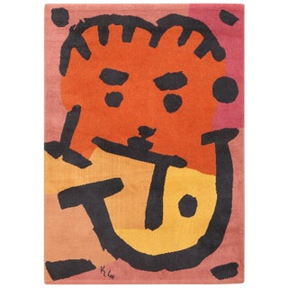 Paul Klee Artist Scandinavian Rug - 4′8″ × 6′6″ For Sale