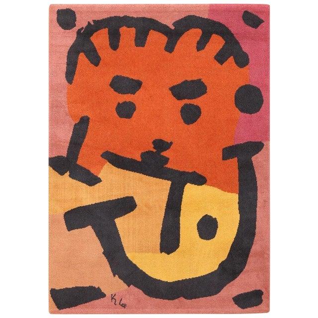 Paul Klee Artist Scandinavian Rug - 4′8″ × 6′6″ For Sale