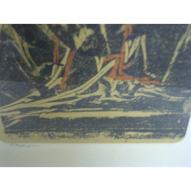 """Flehion"" Vintage Print by B. K. Johnston - Image 4 of 6"