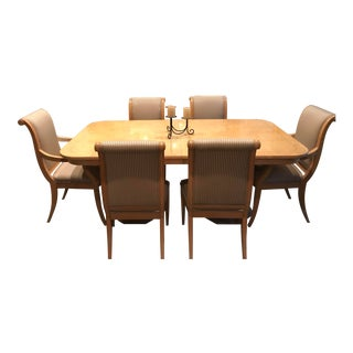 Henredon Charles X Dining Room Table and Chairs For Sale