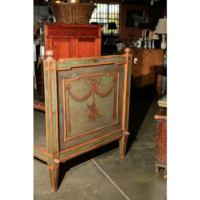 Venetian Painted Day Bed For Sale - Image 4 of 8