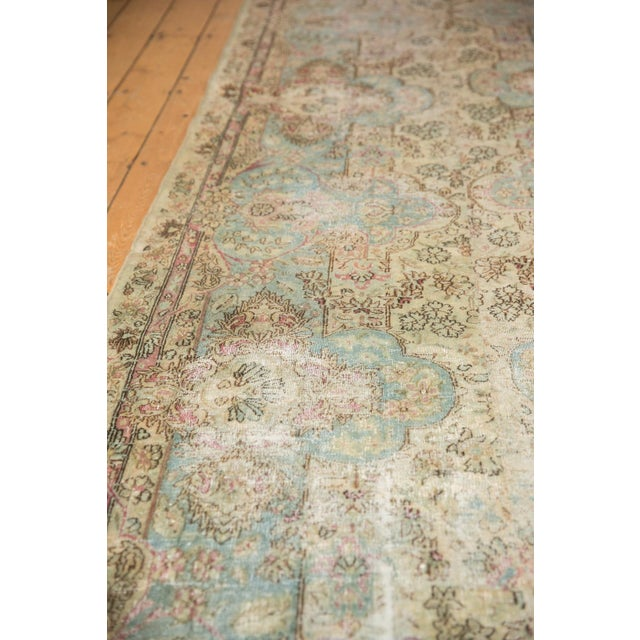 Comprised of two side borders of what once was a considerable sized carpet. This type, style and age of carpet are known...