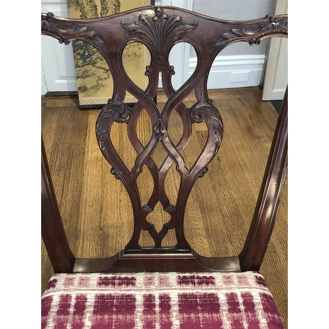Antique Chippendale Dining Chairs - Set of 10 For Sale - Image 9 of 12