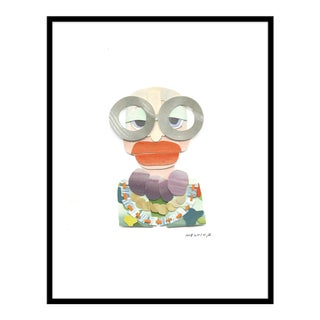 "Large ""Iris Apfel"" by Melvin G., 34"" X 45"""