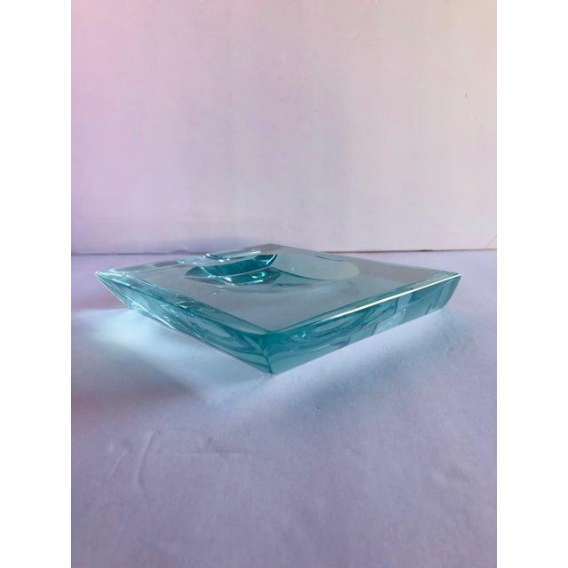 Fontana Arte Beveled Glass Ashtray by Fontana Arte For Sale - Image 4 of 12