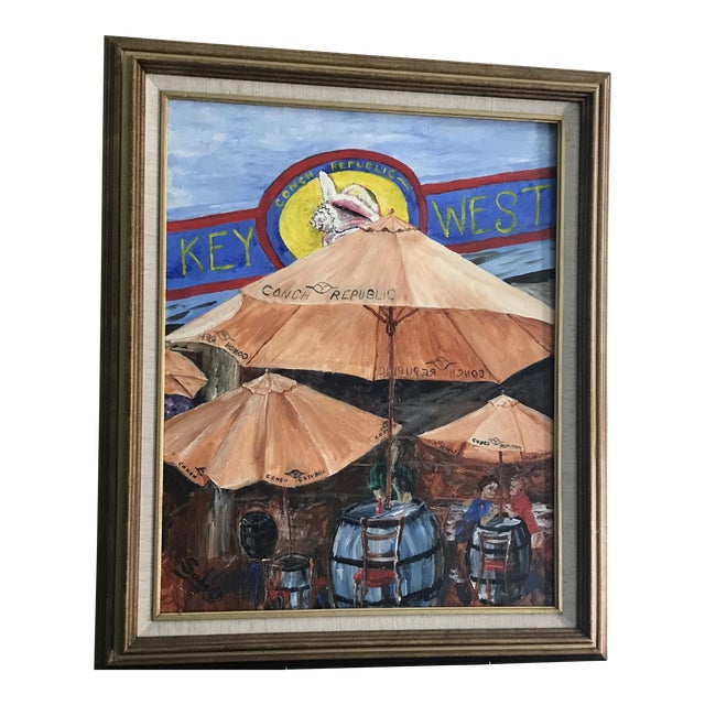 Key West Frame of Mind Painting - Image 1 of 5