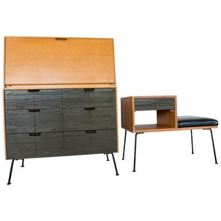 Raymond Loewy Droptop Desk or Cabinet, 1950s For Sale