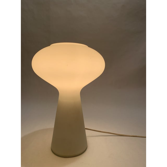 Lisa Johansson-Pape Italian Glass Mushroom Lamp by Lisa Johansson-Pape For Sale - Image 4 of 10