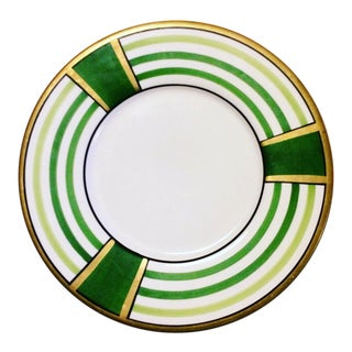 Este' Ce Made in Italy Dipinto a Mano Porcelain Plate Hand Painted For Sale