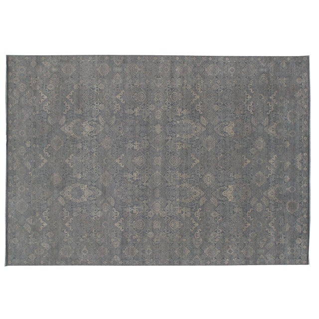 Stark Studio Rugs Traditional New Oriental Indian Wool Rug - 8′10″ × 11′10″ For Sale