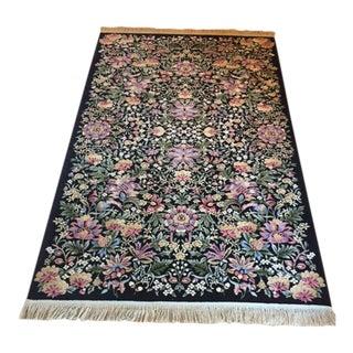 Karastan Garden of Eden Wool Floral Rug - 6' X 9'