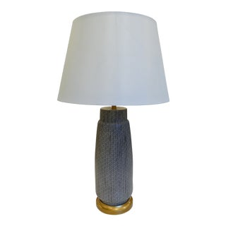 Sensu Patterned Table Lamp For Sale