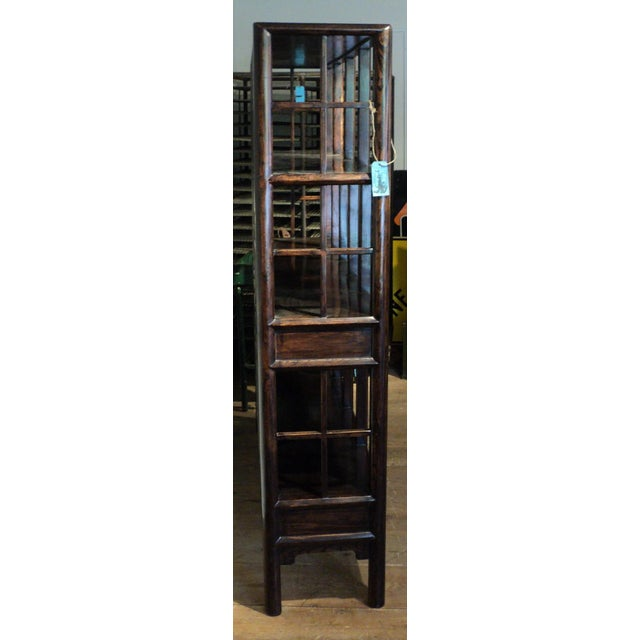 Large Antique Chinese Solid Wood Multi Drawer Etagere - Image 8 of 11