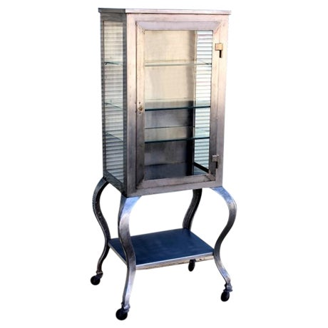 Industrial-Style Medicine Cabinet - Image 1 of 3