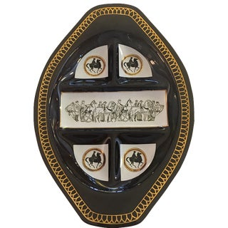 Briard Style Sectioned Serving Dish