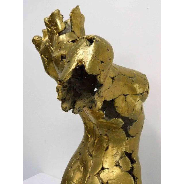 Brutalist Life Size Female Torso Sculpture For Sale - Image 7 of 10