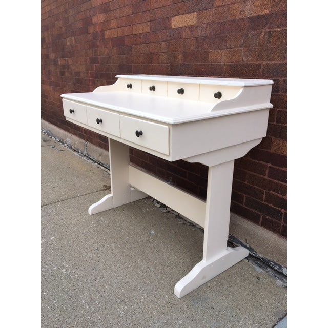 Vintage Painted Writing Desk - Image 4 of 6