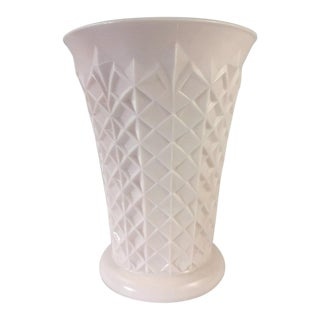 Jeannette Milk Glass Vase For Sale