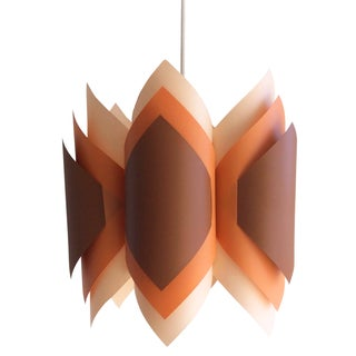 Vintage 1970s Swag Pendant Light