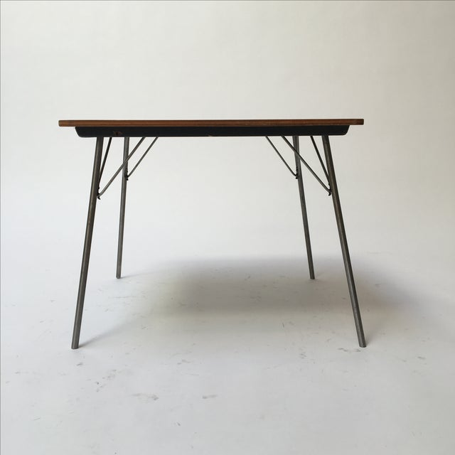 Eames Vintage Eames IT-1 Child Size Folding Table For Sale - Image 4 of 11