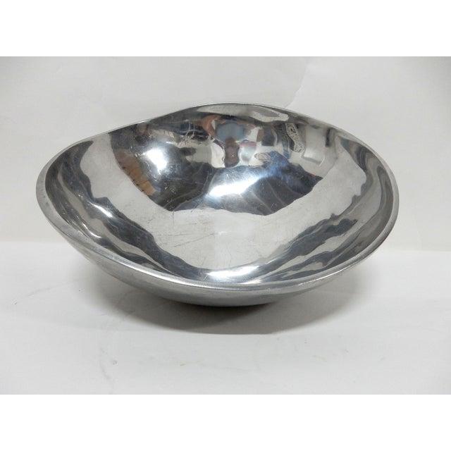 Bruce Fox Design Aluminum Bowl - Image 2 of 7