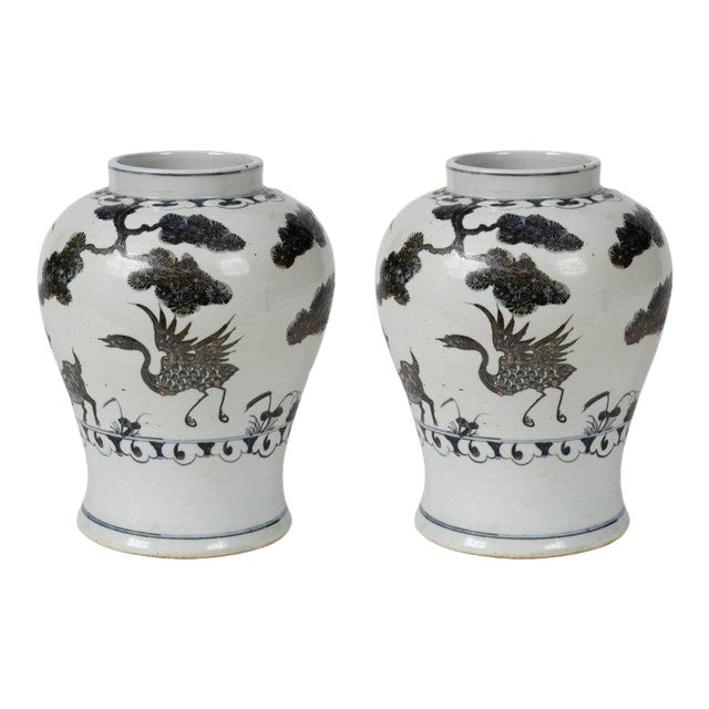 Pair of Ginger Jars - Image 1 of 4
