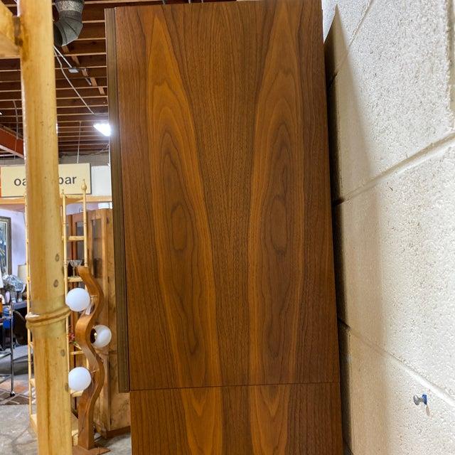 Brown Diekwish German Veneer Modular Wall Unit For Sale - Image 8 of 13