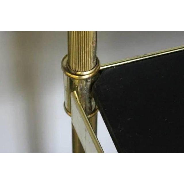 Hollywood Regency Brass Etageres - a Pair For Sale - Image 9 of 9