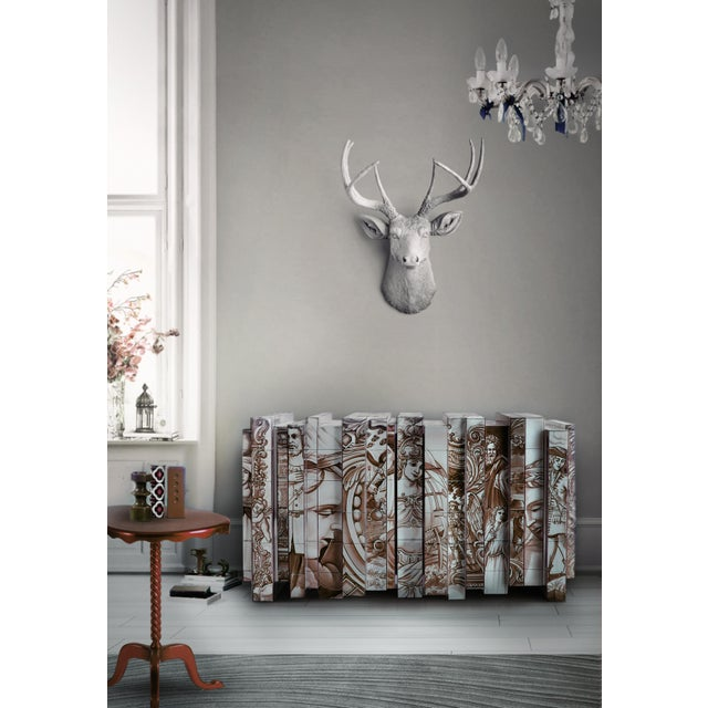 The Heritage Sideboard is small journey through Portuguese history and culture. Covered in Azulejos, the Portuguese...