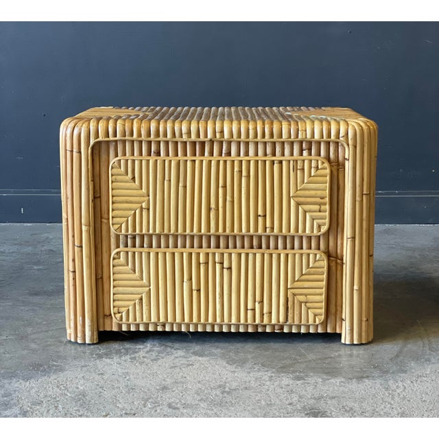 Rattan Nightstand For Sale - Image 12 of 12