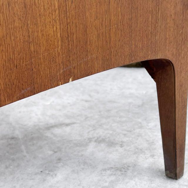 Wood Mid-Century Modern Three Drawer Dresser For Sale - Image 7 of 10
