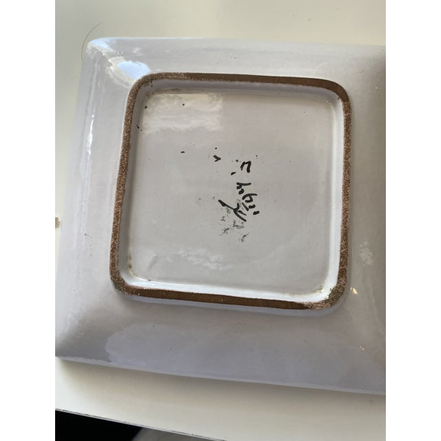 Mid-Century Modern Mid Century Modern Italian Bitossi Ashtray For Sale - Image 3 of 4